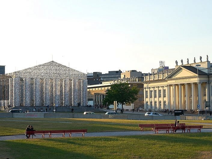 The Parthenon of Books - Documenta 14, Kassel